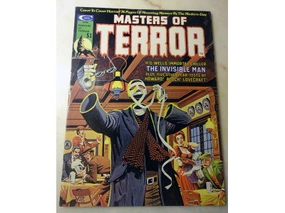 MARVEL MASTERS OF TERROR #2