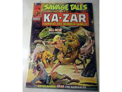 SAVAGE TALES #6